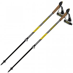 Палки для скандинавской ходьбы Vipole High Performer Carbon Top-Click QL DLX (S1965) (926962) (803337824890)