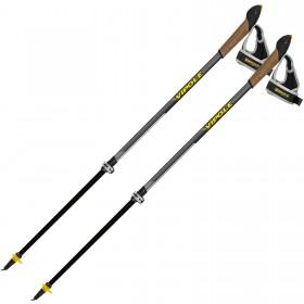 Палки для скандинавской ходьбы Vipole Instructor Vario QL Dark DLX (S2027) (928654) (8033378249278)