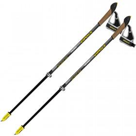 Палки для скандинавской ходьбы Vipole Vario Top-Click QL K.T. Silent DLX (S1947) (926639) (8033378248479)