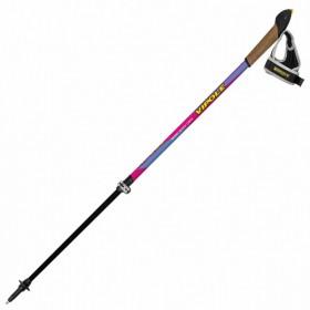 Палки для скандинавской ходьбы Vipole Vario Top-Click QL Violet DLX (P19427) (927593)