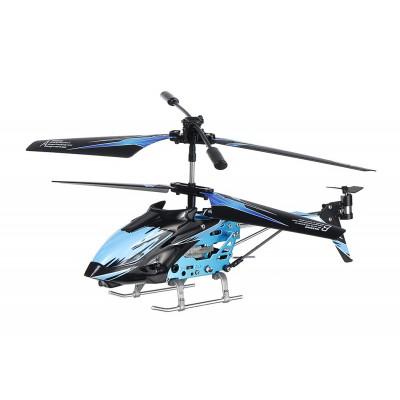 Вертолёт на радиоуправлении 3-к WL Toys S929 с автопилотом (синий)