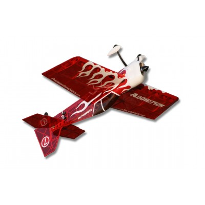 Самолёт р/у Precision Aerobatics Addiction 1000мм KIT (красный)