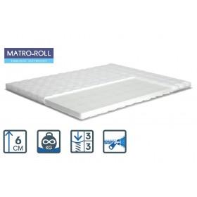 Тонкий матрас Matroluxe Air Standart 3+1 Matro-Roll-Topper/Эйр Стандарт 3+1 80х190