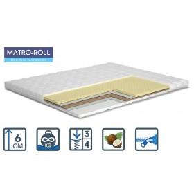 Тонкий матрас Matroluxe Double Comfort Matro-Roll-Topper/Дабл Комфорт 80х190