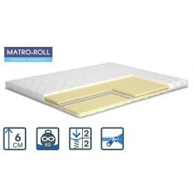 Тонкий матрас Matroluxe Ultra Flex Matro-Roll-Topper/Ультра Флекс 80х190