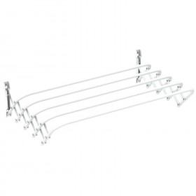 Сушилка для белья настенная Gimi Brio Super 100 5 м (928459) (8001244073104)