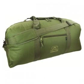 Сумка дорожная Highlander Cargo 100 Olive Оливковый (925501) (5034358034627)