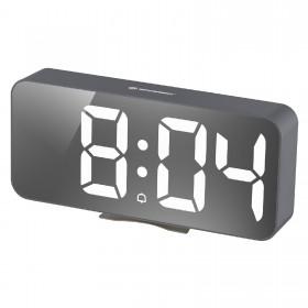 Часы настольные Bresser MyTime Echo FXL Grey (8010072QT5WHI)