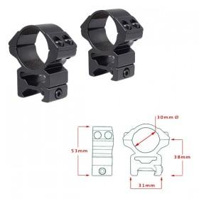 Кольца Hawke Matchmount 30mm/Weaver/High (22117) (921000) (5054492221172)