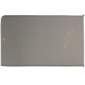 Коврик самонадувающийся Easy Camp Self-inflating Siesta Mat Double 10 cm Grey (300056) (928480) (5709388068767)