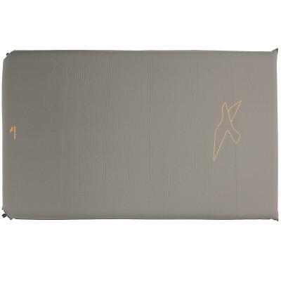 Коврик туристический Easy Camp Self-inflating Siesta Mat Double 10 cm Grey (928480)