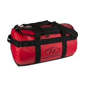 Сумка дорожная Highlander Lomond Tarpaulin Duffle 65 Red (925857) (5034358039240)