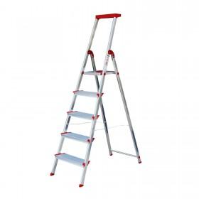 Стремянка Rolser Escalera Brico 220 5 широких ступеней (BRI027) (928609) (8420812016051)