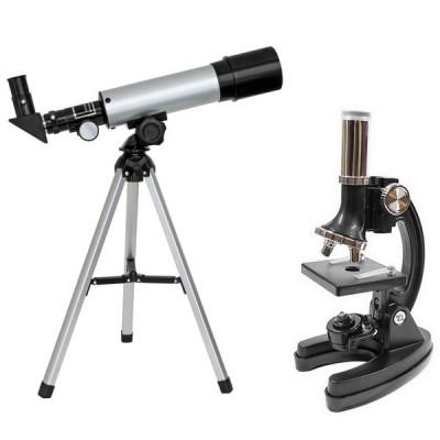 Микроскоп Optima Universer 300x-1200x + Телескоп 50/360 AZ в кейсе (MBTR-Uni-01-103) (928587)