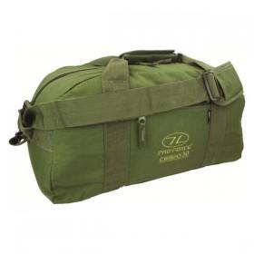 Сумка дорожная Highlander Cargo 30 Olive Оливковый (925496) (5034358034528)