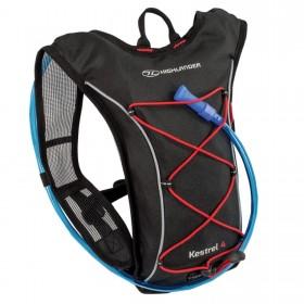 Рюкзак спортивный Highlander Kestrel 4 Hydration Pack 6 Black/Red