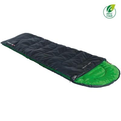 Спальный мешок High Peak Easy Travel/+5°C Anthra/Green Left (20068) (928258)