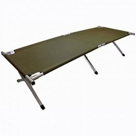 Кровать кемпинговая Highlander Aluminium Camp Bed Green (FUR041-GN) (925471) (5034358040451)