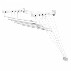 Сушилка для белья настенно-потолочная Gimi Lift 120 7м (153563) (928712) (8001244460126)