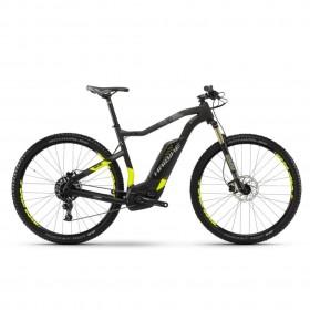 """Электровелосипед Haibike SDURO HardNine Carbon 8.0 500Wh 29"""", рама L, бело-черно-желтый. 2018"""