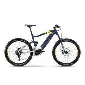 """Электровелосипед Haibike SDURO FullSeven 7.0 500Wh 27,5"""", рама L, сине-бело-желтый, 2018"""