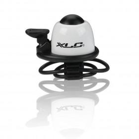 Звонок велосипедный XLC DD-M07, белый, Ø22,2-31,8 мм