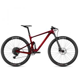 "Велосипед Ghost Lector FS Advanced 29"", рама M, красный, 2021"