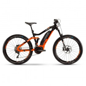 """Велосипед Haibike SDURO FullSeven LT 8.0 27.5"""" 500Wh рама L,оранжево-черносеребристый,2019, тестовый"""