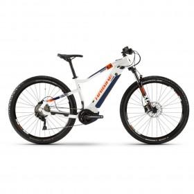 """Электровелосипед Haibike SDURO HardNine 5.0 i500Wh 10 s. Deore 29"""", рама L, бело-оранжево-синий, 2020"""