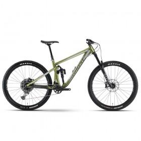 "Велосипед Ghost RIOT AM AL/AL U Universal 29"", рама M, зелёно-серый, 2021"