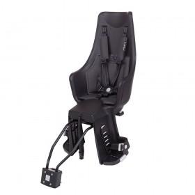 Детское велокресло Bobike Exclusive maxi Plus Frame LED / Urban black