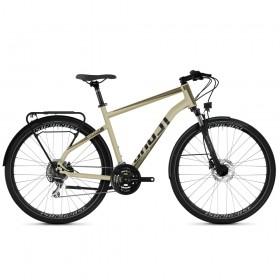 "Велосипед Ghost Square Trekking Base AL U 28"", рама L, серый, 2021"