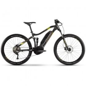 "Электровелосипед HAIBIKE SDURO FullSeven 1.0 500Wh 10 s. Deore 27.5"", рама М, серо-лаймово-бронзовый, 2020"