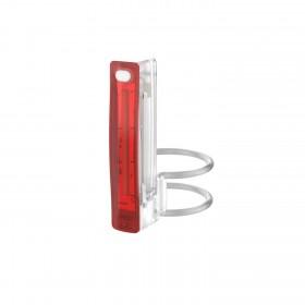 Мигалка задняя Knog Plus Rear 20 Lumens Translucent