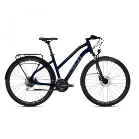 "Велосипед Ghost Square Trekking Essential AL U 28"", рама L, синий, 2021"