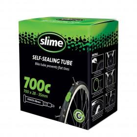 Антипрокольная камера с жидкостью 700 x 28 – 35 PRESTA, Slime