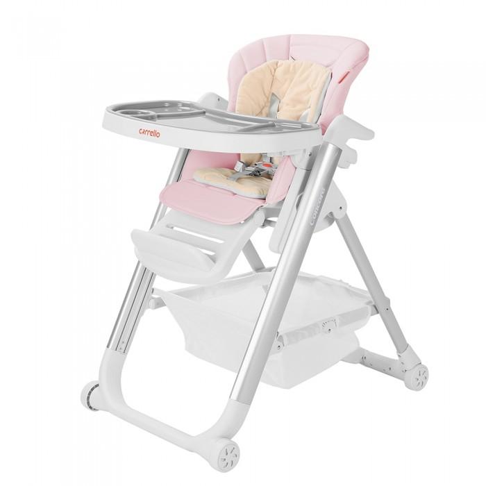Детский стульчик для кормления Carrello Concord (Каррелло Конкорд) CRL-7402 Salmon Pink (6900074000057) Цвет Розовый
