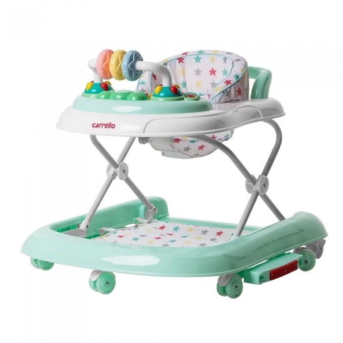 Детские ходунки Carrello Torino (Каррелло Торино) CRL-9603/3 Azure 3 в 1 (Детские ходунки, качели, каталка) (6900096000530) Цвет Лазурь