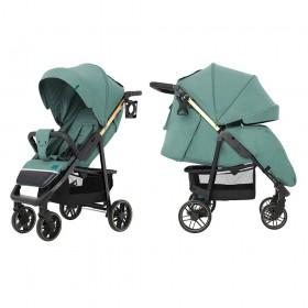 Детская прогулочная коляска Carrello Echo (Каррелло Эхо) CRL-8508/2 Emerald Green Цвет Зеленый