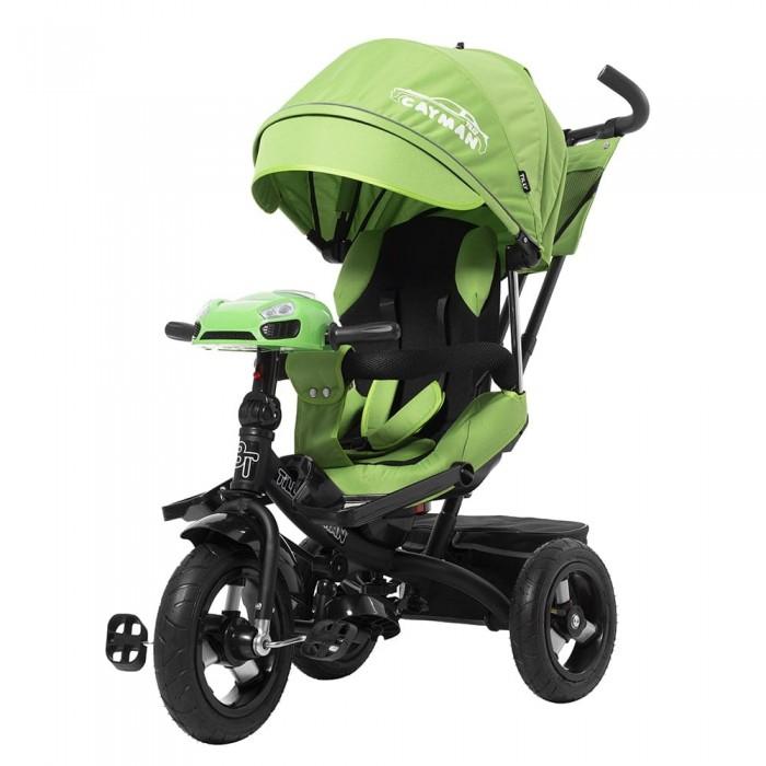 Велосипед трехколесный TILLY CAYMAN T-381 Зелёный, с пультом и усиленной рамой