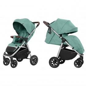 Детская прогулочная коляска Carrello Bravo (Каррелло Браво) CRL-5512 Basil Green (6900085002514) Цвет Зеленый