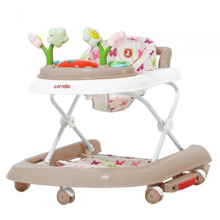 Детские ходунки 3 в 1 Carrello Fiore (Каррелло Фиор) CRL-9606 Beige (Детские ходунки, качели, каталка) (6900096000448) Цвет Бежевый