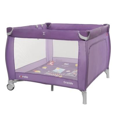 Детский манеж Carrello Grande (Каррелло Гранде) CRL-9204/1 Orchid Purple (6900092000473) Цвет Фиолетовый