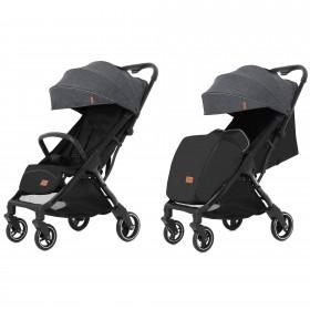 Детская прогулочная коляска Carrello Turbo (Каррелло Турбо) CRL-5503 Cool Grey (6900014000956) Цвет Серый