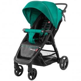 Детская прогулочная коляска Carrello Maestro (Каррелло Маэстро) CRL-1414 Golf Green, с дождевиком (6900014000659) Цвет Зеленый